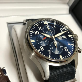 インターナショナルウォッチカンパニー(IWC)の【F348TB様専用】IWC パイロットウォッチ プティプランス (腕時計(アナログ))