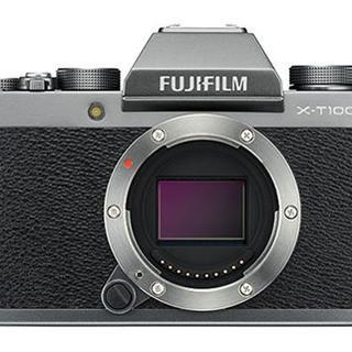 富士フイルム - 新品 FUJI X-T100 ダークシルバー 1年保証