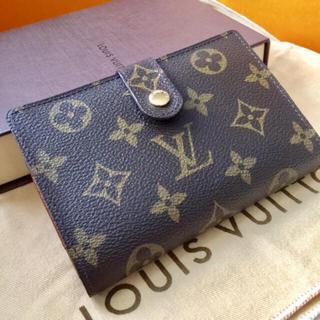 ルイヴィトン(LOUIS VUITTON)の美品です 正規品ルイヴィトンがま口財布(財布)