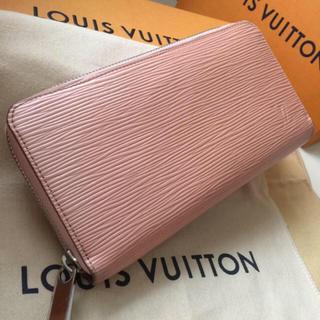 ルイヴィトン(LOUIS VUITTON)の正規品ルイヴィトンエピジッピーウォレット ピンク色系(財布)