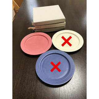 イッタラ(iittala)の廃盤 イイホシユミコ   プレート ピンク(食器)