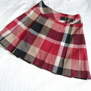 ブルーレーベル クレストブリッジ  巻きスカート(ひざ丈スカート)