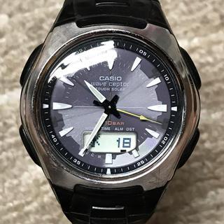 カシオ(CASIO)のCASIOウェーブセプターWVA-430【訳あり】(腕時計(アナログ))