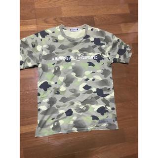 アベイシングエイプ(A BATHING APE)のUndefeated a bathing ape tシャツ(Tシャツ/カットソー(半袖/袖なし))