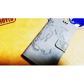 バタフライ※蝶々※シンプル※手帳型※大人可愛い※花柄※iPhone6(iPhoneケース)