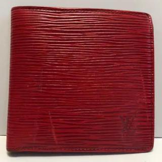 ルイヴィトン(LOUIS VUITTON)のルイヴィトンエピ 赤 財布(財布)