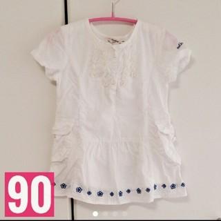 オシュコシュ(OshKosh)のosh kosh♡トップス♡女の子♡90cm(Tシャツ/カットソー)