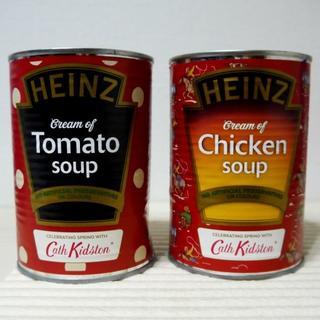 キャスキッドソン(Cath Kidston)の【イギリス限定】キャスキッドソン×ハインツ コラボ缶スープ 2缶(缶詰/瓶詰)