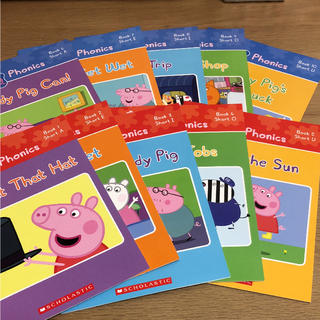 Peppa pig 絵本 10冊セット(洋書)
