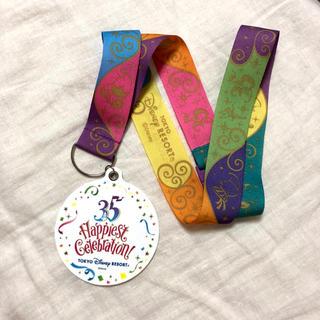ディズニー(Disney)のディズニー 35周年 メダル(ノベルティグッズ)