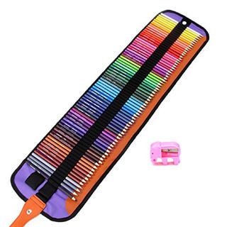 ☆セール品☆色鉛筆 72色 油性色鉛筆 収納ケース付き 鉛筆削り付き(鉛筆)