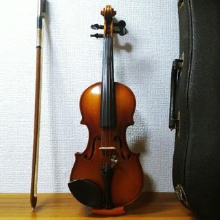 【美音虎杢】鈴木バイオリン 1/16 No.240 スズキ Suzuki(ヴァイオリン)