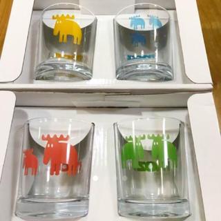 イッタラ(iittala)の⭐︎新品未使用⭐︎moz 北欧グラス 4個セット⭐︎(グラス/カップ)