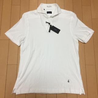 ギローバー(GUY ROVER)の新品未使用 ギローバー ビームス  別注 パイル地 ポロシャツ Mサイズ(ポロシャツ)