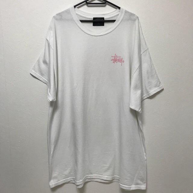 STUSSY(ステューシー)のレア【美品】 STUSSY ステューシー ビッグTシャツ 多数出品中! レディースのトップス(Tシャツ(半袖/袖なし))の商品写真