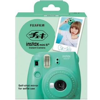フジフイルム(富士フイルム)のチェキinstax mini8+(フィルムカメラ)