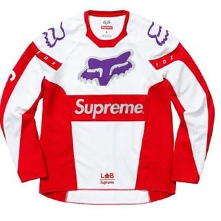 シュプリーム(Supreme)の希少S  Supreme Fox Racing Moto Jersey Top (Tシャツ/カットソー(七分/長袖))
