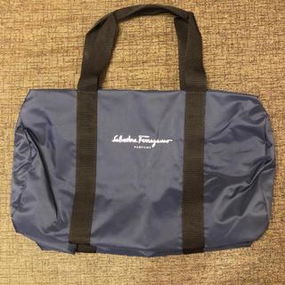 サルヴァトーレフェラガモ(Salvatore Ferragamo)の非売品 サルヴァトーレ フェラガモ イタリア製 スポーツバッグ ドラムバッグ(ドラムバッグ)