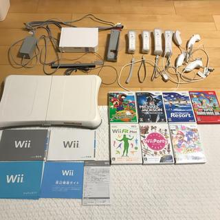ウィー(Wii)のニンテンドー Wii ソフト バランスボード セット(家庭用ゲーム本体)