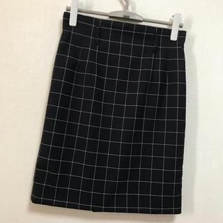コムサイズム(COMME CA ISM)の【美品】COMME CA MODELSチェック柄スカート♡(ひざ丈スカート)