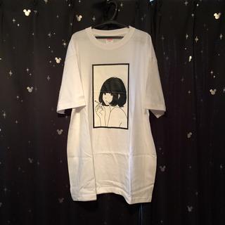 ヨウジヤマモト(Yohji Yamamoto)の送料込み 0.14×夕海 Tシャツ 白 XL(Tシャツ(半袖/袖なし))