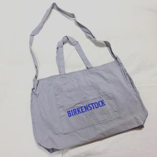 ビルケンシュトック(BIRKENSTOCK)のBIRKENSTOCKノベルティ 2wayトートバッグ(ノベルティグッズ)