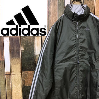 アディダス(adidas)の【レア】アディダスadidas♡サイドラインリバーシブルナイロンジャケット(ナイロンジャケット)