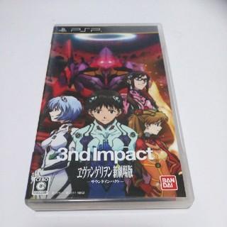 プレイステーションポータブル(PlayStation Portable)のPSP エヴァンゲリオン 新劇場版 サウンドインパクト(携帯用ゲームソフト)