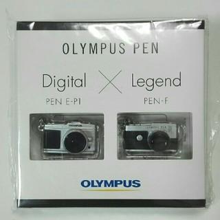 オリンパス(OLYMPUS)の【オリンパス】カメラキーホルダー(ノベルティグッズ)