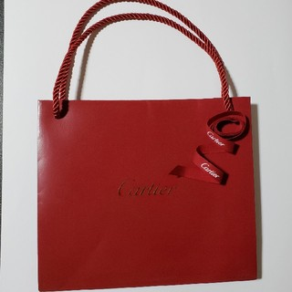 カルティエ(Cartier)のカルティエ  ショップ袋 & リボン(ショップ袋)