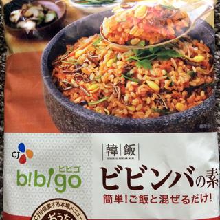 コストコ(コストコ)の☆美味しい!おうちで石焼きビビンバ!☆コストコ ビビンバの素 1袋 2人分x3(レトルト食品)