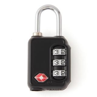 ムジルシリョウヒン(MUJI (無印良品))の無印良品 TSAロック・ダイヤル式 黒(スーツケース/キャリーバッグ)