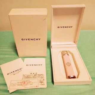 ジバンシィ(GIVENCHY)の【送込】新品同様・GIVENCHYスリムガスライター・PINK×SILVER(その他)
