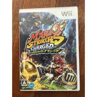 ウィー(Wii)のWii  マリオストライカーズチャージド(家庭用ゲームソフト)