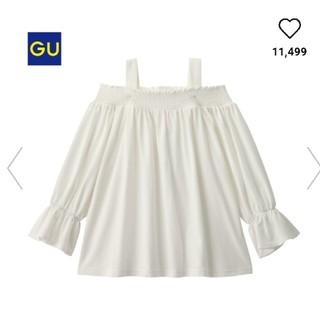 GU - オフィショルトップス