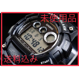 カシオ(CASIO)のCASIO  バイブレーションアラーム搭載 腕時計(腕時計(デジタル))