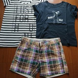 コムサイズム(COMME CA ISM)のレディース3点セット売り☆(Tシャツ(半袖/袖なし))