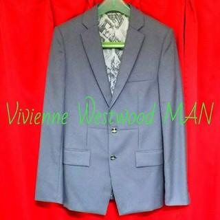 ヴィヴィアンウエストウッド(Vivienne Westwood)のヴィヴィアンウエストウッドマン テーラードジャケット スーツ ブレザー グレー(テーラードジャケット)