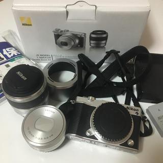 Nikon - Nicon1 j5 ダブルズームキット ミラーレス