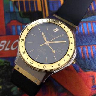 ウブロ(HUBLOT)のHUBLOT MDM ウブロ GMT 36ミリ K18 hublot 腕時計(腕時計(アナログ))