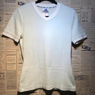 アディダス(adidas)のadidas GOLF アディダス ゴルフ 半袖VネックTシャツ サイズM(ウエア)