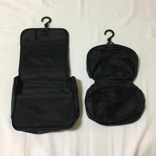 ムジルシリョウヒン(MUJI (無印良品))の無印良品 トラベルポーチ2個セット(旅行用品)