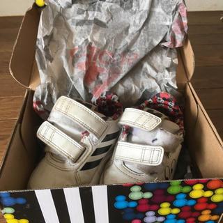 アディダス(adidas)のアディダスミッキー靴 12cm(スニーカー)