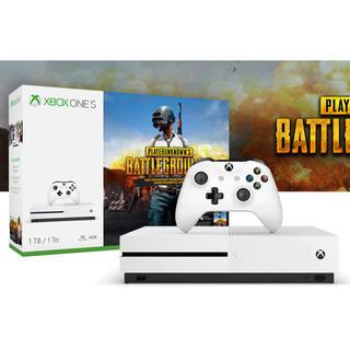 エックスボックス(Xbox)の【ほぼ新品】Xbox One S 1 TB PUBG同梱(家庭用ゲーム機本体)