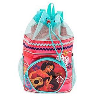 ディズニー(Disney)のディズニー エレナ プールバッグ スイミングバッグ リュック 巾着式 女の子(その他)
