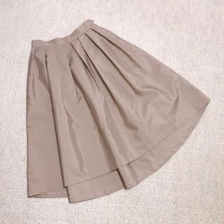 エムプルミエ(M-premier)のエムプルミエ(M-PREMIER)のピンクスカート(ひざ丈スカート)