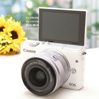 Canon - ❤Wi-Fi標準搭載&自撮り❤高性能ミラーレス一眼♪Canon EOS M10