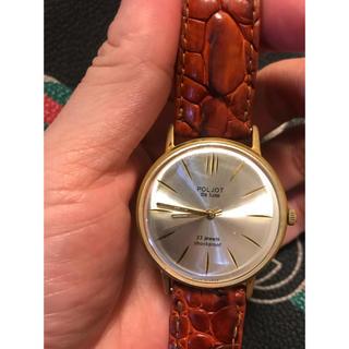 ポレオット(Poljot(ПОЛЕТ))の腕時計 Poljot 23 Jewels shockproof Russia(腕時計(アナログ))