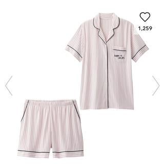 ジーユー(GU)の新品★gu ストライプ パジャマ ピンク(パジャマ)
