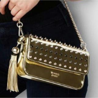 ヴィクトリアズシークレット(Victoria's Secret)のヴィクトリアズシークレット 新品 ショルダーバッグ ルブタン風 ゴールド (ショルダーバッグ)